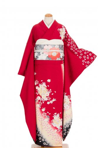 振袖 雪輪に桜 鞠 トールサイズ のサムネイル画像