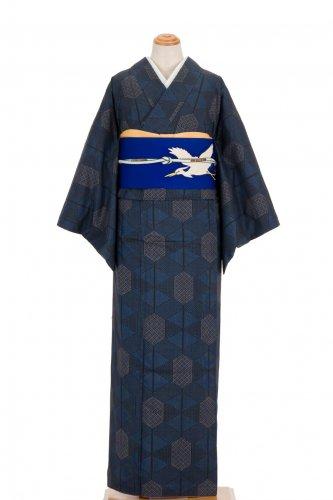 紬 紺の亀甲のサムネイル画像
