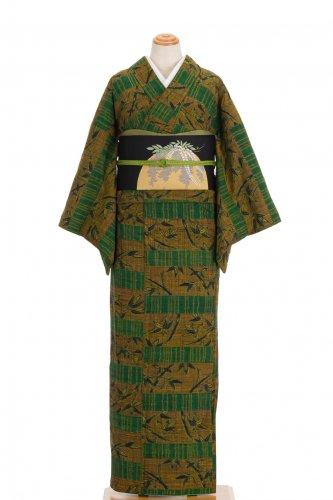 紬 横段と笹のサムネイル画像