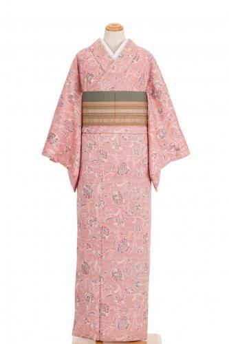 紬 くすみピンク 小花のサムネイル画像