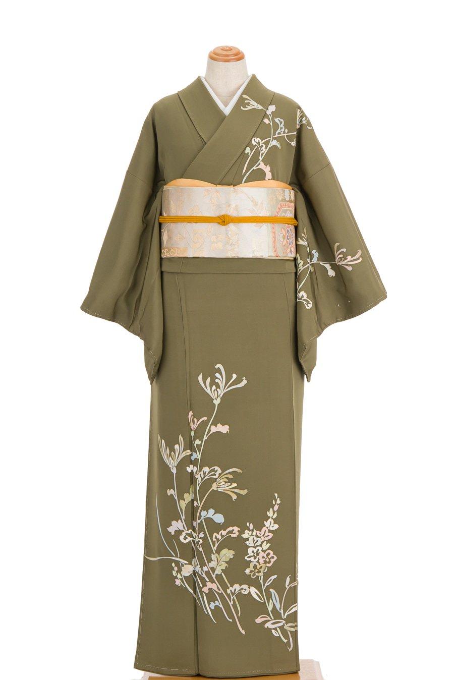 「訪問着 一つ紋 菊の花」の商品画像