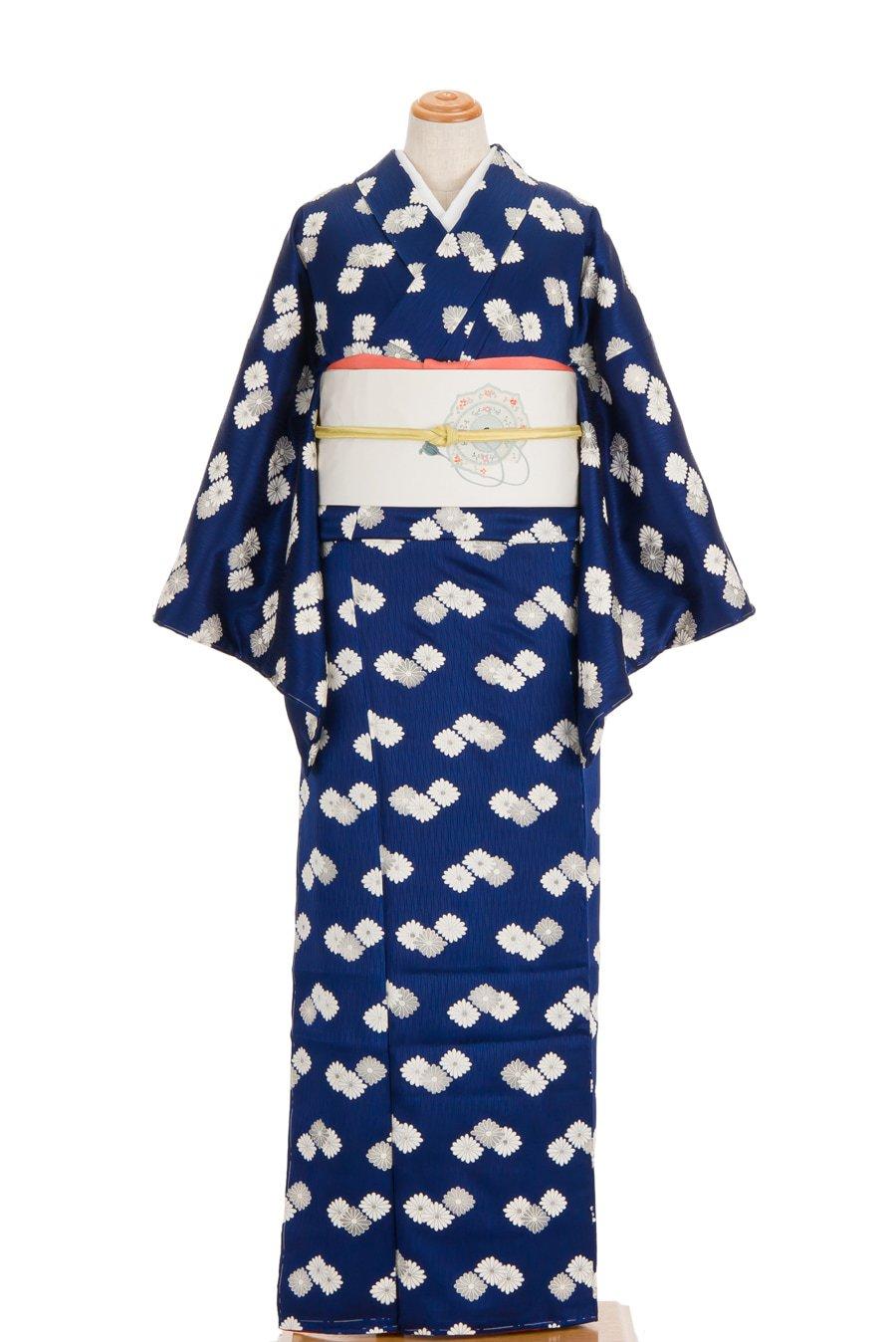 「白い菊の菱模様」の商品画像