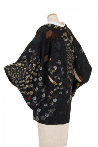 アンティーク着物 一つ紋 菊花
