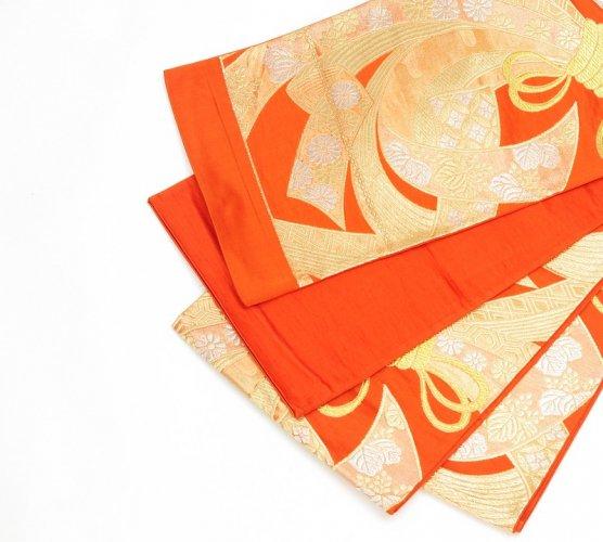 袋帯●金の熨斗目文様のサムネイル画像