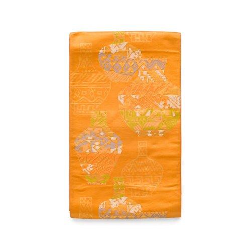 袋帯●エスニック調 壺の柄のサムネイル画像