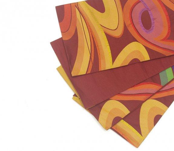 洒落袋帯 こってりカラフル曲線のサムネイル画像