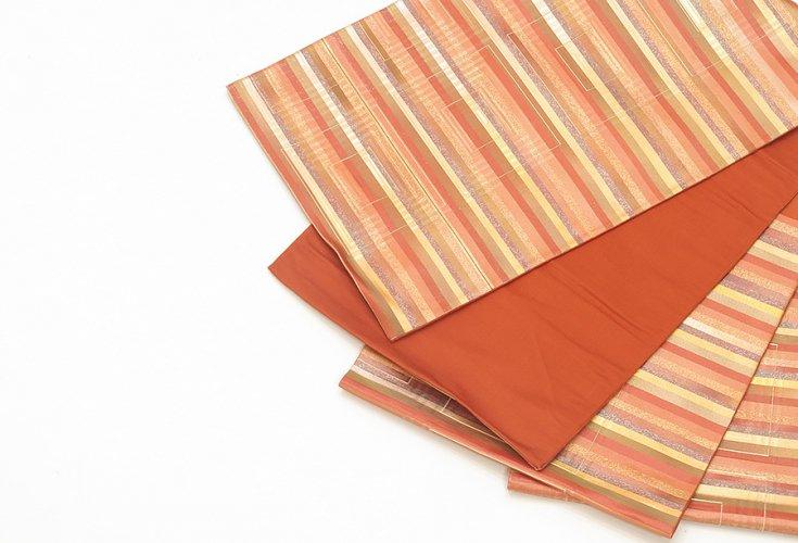 袋帯●ボーダーと重なる四角のサムネイル画像