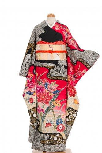 振袖 菖蒲に蝶のサムネイル画像