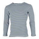冬季ボーダーシャツ<br>(ネイビー・綿100%)