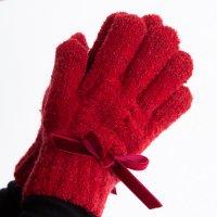 【50%OFF!】ベルベットリボン手袋(2023303)/S・M