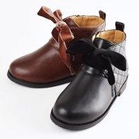 【NEW ARRIVAL】キルトステッチブーツ(2121202)/17-21cm