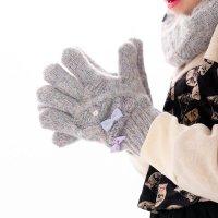 【NEW ARRIVAL】モヘア手袋(2123301)/S・M