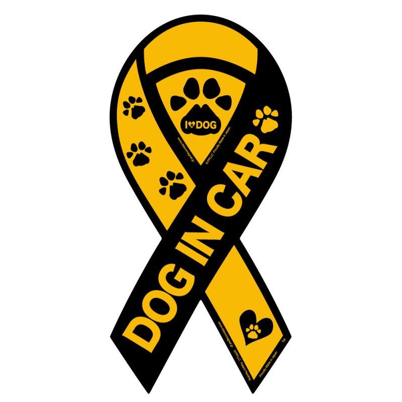 DOG IN CAR (L) いつも一緒にいたいから…。