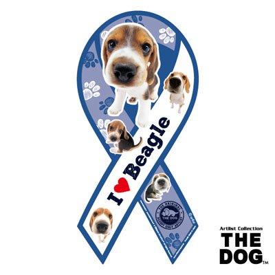 リボンマグネット THE DOG(ザ・ドッグ)ビーグル