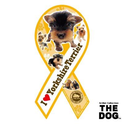 リボンマグネット THE DOG(ザ・ドッグ)ヨークシャーテリア