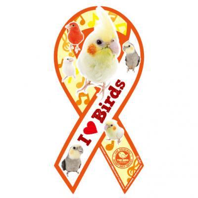 リボンマグネット THE BIRD(ザ・バード)イエロー