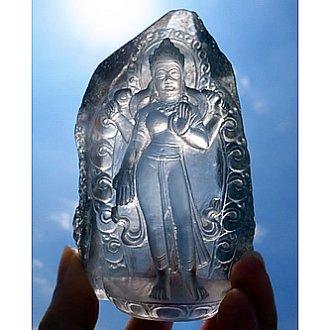 ヒマラヤ水晶 ラクシュミー(吉祥天)
