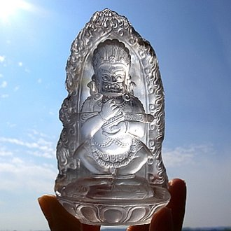 ヒマラヤ水晶彫刻 〜マハーカーラ〜
