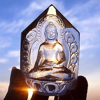 ヒマラヤ水晶仏陀