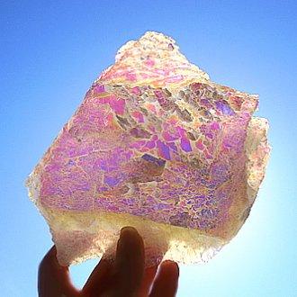 エンジェルオーラ、光の石