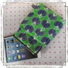 ipad mini、Nexus7、kindle他を可愛く収納!7インチタブレットがま口ポーチ:蔦柄