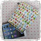 ipad mini、Nexus7、kindle他を可愛く収納!7インチタブレットがま口ポーチ:ライオンさん