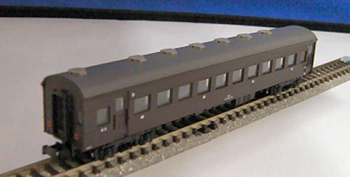 国鉄スハ43形客車ぶどう色1号塗装6両セット
