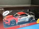 ニッサン スカイライ ン GT-R 2003 テストカー #23 1/18
