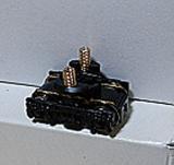 DT19B形動力台車黒車輪
