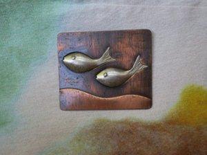 REBAJES お魚が泳ぐファークリップ(S7867)