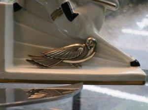 CORO スターリングシルバー 鳩のブローチ(S8221)
