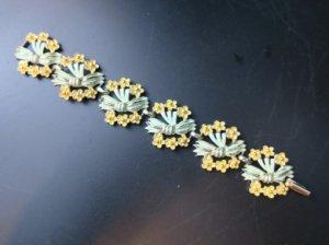 優しい黄色いお花のブレスレット(S8416)