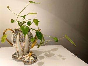 リモージュの花瓶に見立てた3点セット(aaa31)