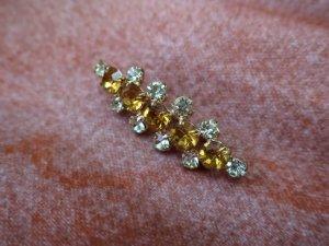 黄色のバーブローチ(S8696)