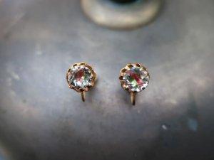 小粒のラインストーンのイヤリング(S8683-8)