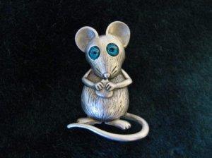 JJ チーズが大好きなネズミ君ブローチ(S5292)