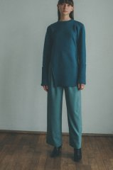 <img class='new_mark_img1' src='https://img.shop-pro.jp/img/new/icons14.gif' style='border:none;display:inline;margin:0px;padding:0px;width:auto;' />CLANE 21AW BASIC TUCK PANTS