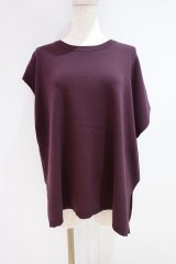 <img class='new_mark_img1' src='https://img.shop-pro.jp/img/new/icons14.gif' style='border:none;display:inline;margin:0px;padding:0px;width:auto;' />RIM.ARK 2021AW Asymmetry knit tops ボルドー