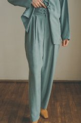 <img class='new_mark_img1' src='https://img.shop-pro.jp/img/new/icons14.gif' style='border:none;display:inline;margin:0px;padding:0px;width:auto;' />CLANE 21AW 2TUCK CHINA SMOOTH PANTS
