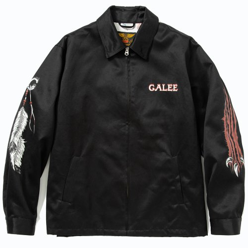 <img class='new_mark_img1' src='https://img.shop-pro.jp/img/new/icons15.gif' style='border:none;display:inline;margin:0px;padding:0px;width:auto;' />CALEE キャリー「Work jacket」/Black