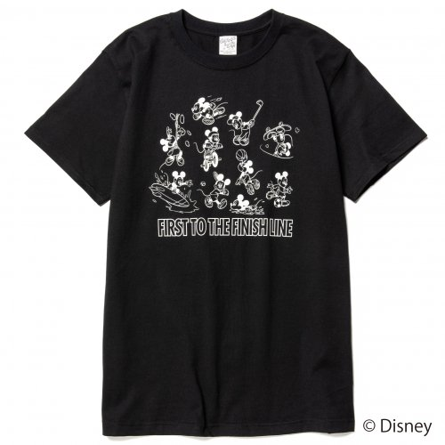 <img class='new_mark_img1' src='https://img.shop-pro.jp/img/new/icons15.gif' style='border:none;display:inline;margin:0px;padding:0px;width:auto;' />CALEE キャリー「DISNEY/Multi player t-shirt Mustard」/Black