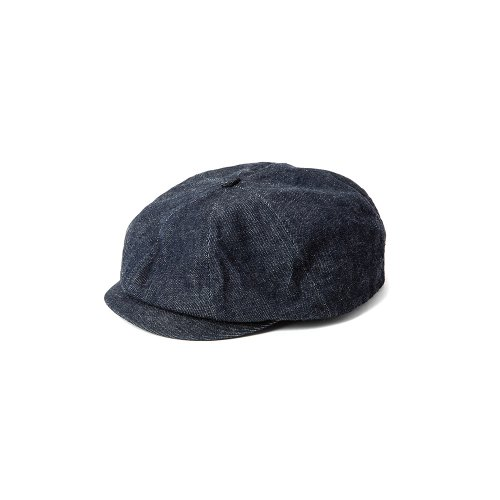 <img class='new_mark_img1' src='https://img.shop-pro.jp/img/new/icons15.gif' style='border:none;display:inline;margin:0px;padding:0px;width:auto;' />CALEEキャリー 「Ow denim casquette」/Indigo Blue