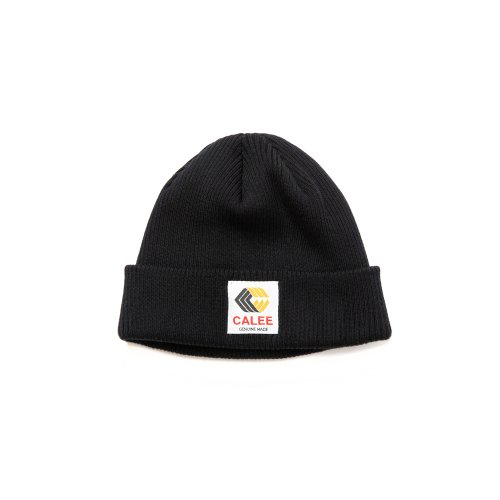 <img class='new_mark_img1' src='https://img.shop-pro.jp/img/new/icons15.gif' style='border:none;display:inline;margin:0px;padding:0px;width:auto;' />CALEEキャリー 「Cotton knit cap」/Black