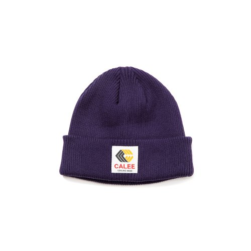 <img class='new_mark_img1' src='https://img.shop-pro.jp/img/new/icons15.gif' style='border:none;display:inline;margin:0px;padding:0px;width:auto;' />CALEEキャリー 「Cotton knit cap」/Purple