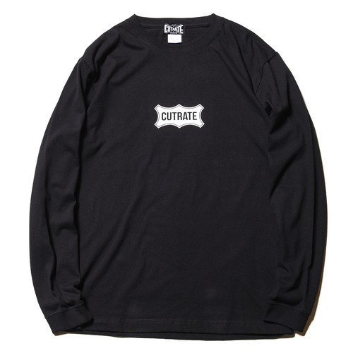 <img class='new_mark_img1' src='https://img.shop-pro.jp/img/new/icons15.gif' style='border:none;display:inline;margin:0px;padding:0px;width:auto;' />CUTRATE カッレイト「BOX LOGO F.O.A.D L/S T-SHIRT/BLACK」/ BLACK