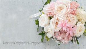 お花のリングピロー<br>プーレ