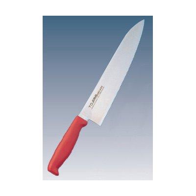 トウジロウ カラー庖丁 牛刀 27cm レッド