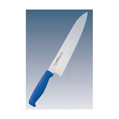 トウジロウ カラー庖丁 牛刀 30cm ブルー
