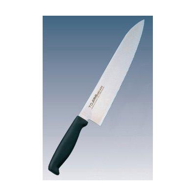 トウジロウ カラー庖丁 牛刀 30cm ブラック