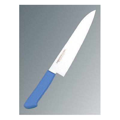 マスターコック 抗菌カラー庖丁(本刃付) 牛刀 MCGK210 ブルー